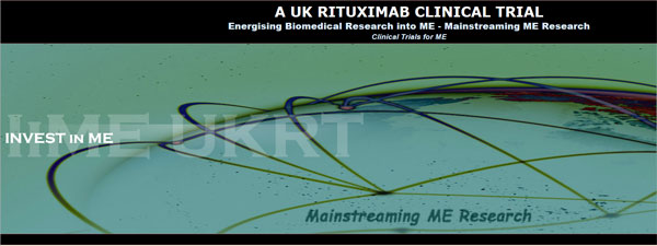 INVEST IN ME rituximab trial fundraising