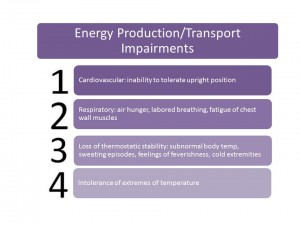 energy production transport impairments