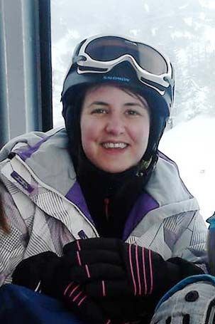 Hazel skiing in 2015