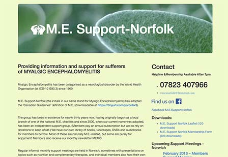 Norfolk-ME-CFS-support